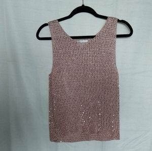 Spanner knit style tank top